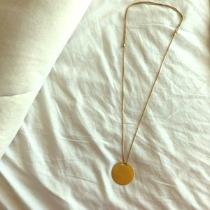 Madewell necklace adjustable